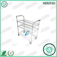 HZ-28104 Three Layers ESD Wire Shelf Reel Trolley