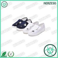 HZ-4306 PVC Sole White Color Anti-static Shoes
